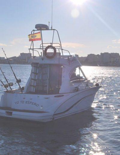 Barco Yo te espero boat trip and fishing