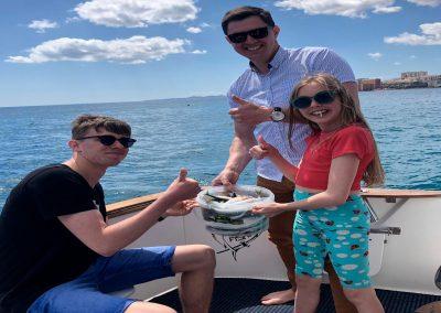 Salidas de Pesca en barco Benalmadena Charter de Pesca Fishing