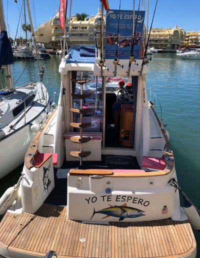 Barco pesca deportiva en Benalmádena, Málaga (5)